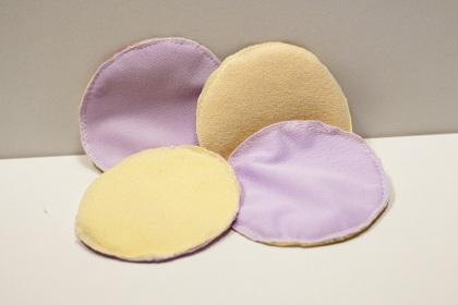 coussinets d'allaitement lavables effet au sec
