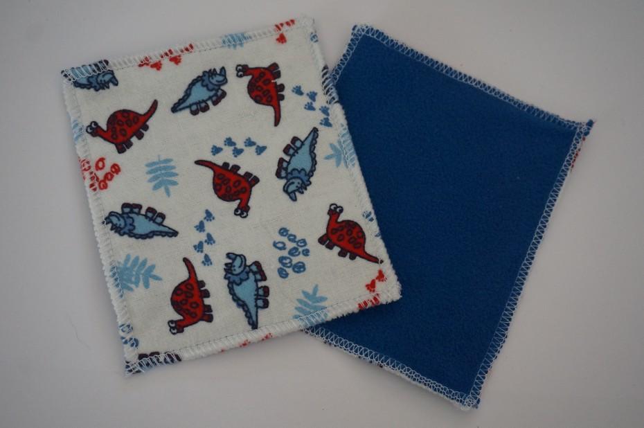 lingettes lavables b b micropolaire flanelle de coton la petite crevette. Black Bedroom Furniture Sets. Home Design Ideas