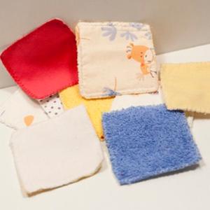 lingettes lavables b b velours de coton bambou la petite crevette. Black Bedroom Furniture Sets. Home Design Ideas